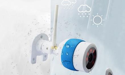 1 ou 2 caméras HD dextérieure et étanches avec carte mémoire en option