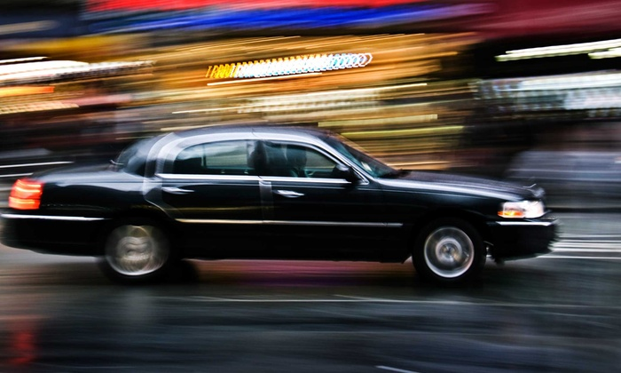 S&G Limousine - Merrick: Airport Transportation for Up to Three in a Town Car from S&G Limousine (Up to 50% Off). Three Options Available.