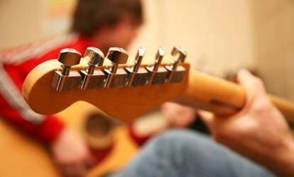 Five or Ten Private Guitar Lessons from £19.99 at The Guitar Workshop (Up to 60% Off)