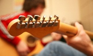The Guitar Workshop: Five or Ten Private Guitar Lessons from £19.99 at The Guitar Workshop (Up to 60% Off)
