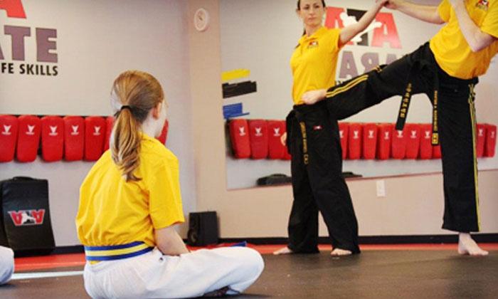 ATA Karate - Multiple Locations: Karate Classes, Krav Maga Classes, or Karate Birthday Party at ATA Karate (Up to 76% Off)