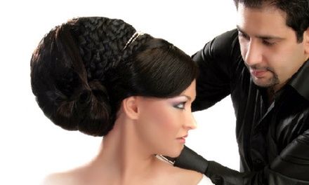 Hair Styling Session with Master Stylist Rajaei Haddad at Alandre Salon & Day Spa (Up to 60% Off)