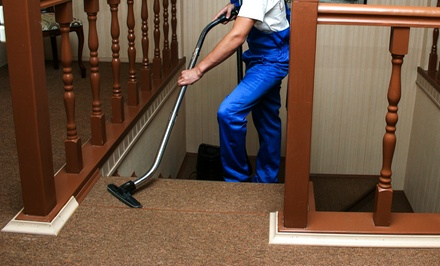 $59 for Carpet Cleaning in Four Rooms and One Hallway from Hector's Cleaning Service ($385 Value)