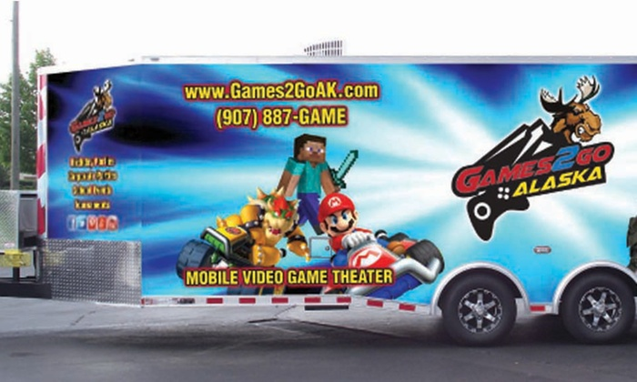 Games2Go Alaska - Anchorage: $75 for $150 Toward a Weekday Mobile Video-Game Party from Games2Go Alaska