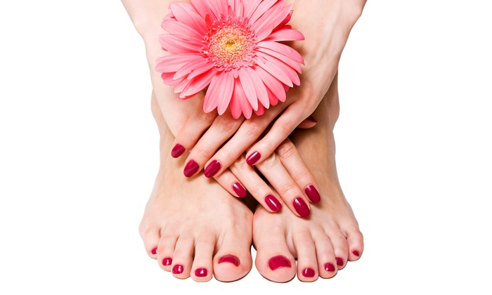 Martina at Bella Capelli Salone & Day Spa - Northwest Columbus: Mani-Pedis at Bella Capelli Salone & Day Spa (Up to Half Off). Three Options Available.