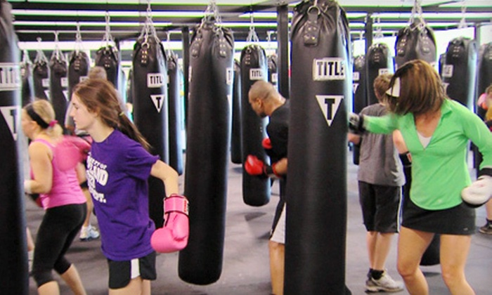 TITLE Boxing Club Loveland - Title Boxing Club- Loveland: $14 for Two Weeks of Unlimited Classes with Take-Home Hand Wraps at TITLE Boxing Club Loveland ($46 Value)