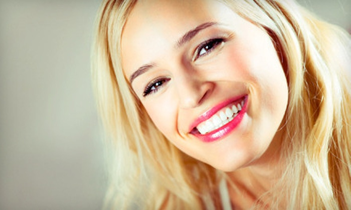 Crystal Beam Laser - Multiple Locations: One or Two In-Office Teeth-Whitening Treatments at Crystal Beam Laser (Up to 73% Off)