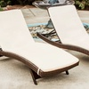Lakeport Outdoor Adjustable Chaise Lounge Chairs (2-Pack)