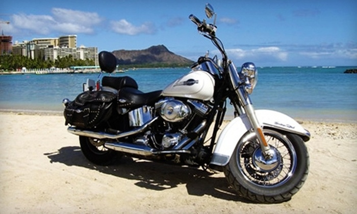 Paradise Rent-A-Car - Waikiki: Eight-Hour or Two-Day Motorcycle Rental from Paradise Rent-A-Car (Up to 61% Off)