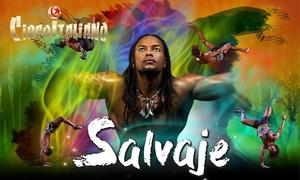 """Il Circo Italiano: Entrada al espectáculo """"Salvaje"""" del Circo Italiano del 11 al 27 de mayo desde 6,95 € en Gijón"""