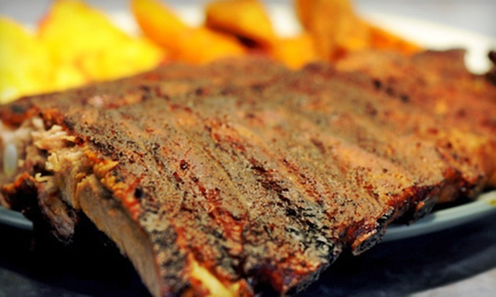 Rub BBQ Company - West Rogers Park: BBQ 101 Class, Four-Course Meal for One or Two, Sauces, and Recipe Booklet at Rub BBQ Company (Up to 59% Off)