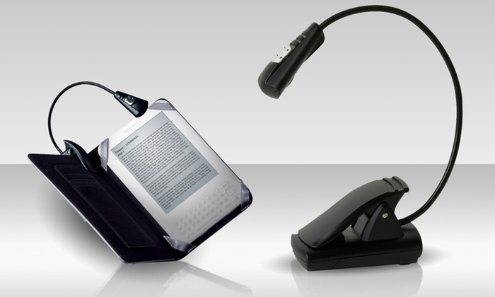 Merkury Innovations LED Reading Light for Books and e-Readers: $7.99 for a Merkury Innovations LED Reading Light for Books and e-Readers ($19.99 List Price). Free Returns.