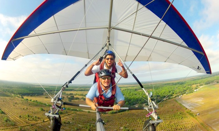 The Florida Ridge Sports Air Park - The Florida Ridge Sports Air Park: $89 for Tandem Discovery Hang-Gliding Flight from Tampa Hang Gliding ($179 Value)