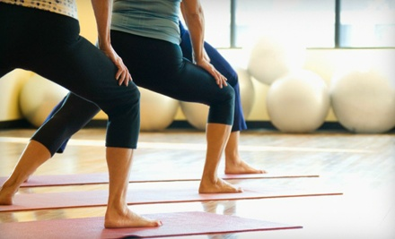 One Month of Unlimited Yoga Classes or 10 or 20 Yoga Classes at Yasa Yoga (Up to 88% Off)