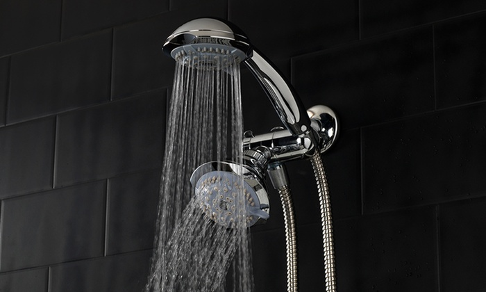 HotelSpa Luxury 30-Setting 2-in-1 Shower Head: $24.99 for a HotelSpa Luxury 30-Setting 2-in-1 Shower Head ($65.98 List Price)