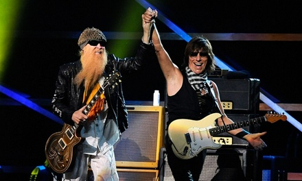 ZZ Top and Jeff Beck at MIDFLORIDA Credit Union Amphitheatre on Wednesday, September 10 at 7 p.m. (Up to 45% Off)