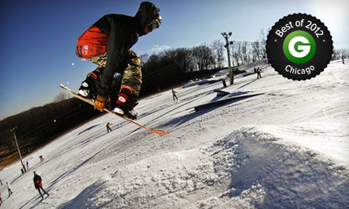 Raging Buffalo Snowboard Ski Park - Raging Buffalo Snowboard Park: All-Day Lift Ticket or Snowboarding Package with Equipment Rental at Raging Buffalo Snowboard Ski Park (Up to 72% Off)