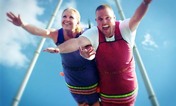 Fun Spot USA - Old Town: $19 for a SkyCoaster Flight at Fun Spot USA in Kissimmee (Up to $40 Value)