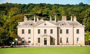 Stanmer House: Three-Course Dinner with a Glass of Prosecco and Live Jazz Show for One, Two or Four at Stanmer House (Up to 61% Off)
