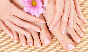 Intrigue Salon & Spa: $49 for One Gel Manicure and Spa Pedicure at Intrigue Salon & Spa ($95 Value)