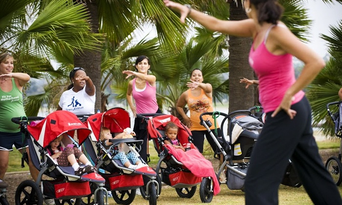 FIT4MOM Muskegon - Multiple Locations: 10 or 20 Stroller Strides Classes at FIT4MOM Muskegon (Up to 72% Off)