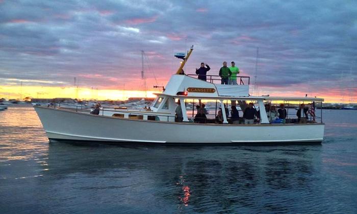 Gansett Cruises - Newport: $35 for a 90-Minute Newport Harbor Boat Cruise for Two from Gansett Cruises ($52 Value)