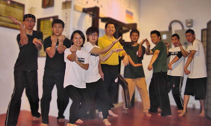 HKB Tustin Martial Arts - Multiple Locations: Four- or Six-Week Unlimited Pass for Kung Fu Classes and Uniform at HKB Tustin Martial Arts (Up to 93% Off)
