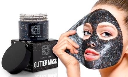 One, Two or Four Dawn Till Dusk Glitter PeelOff Face Masks
