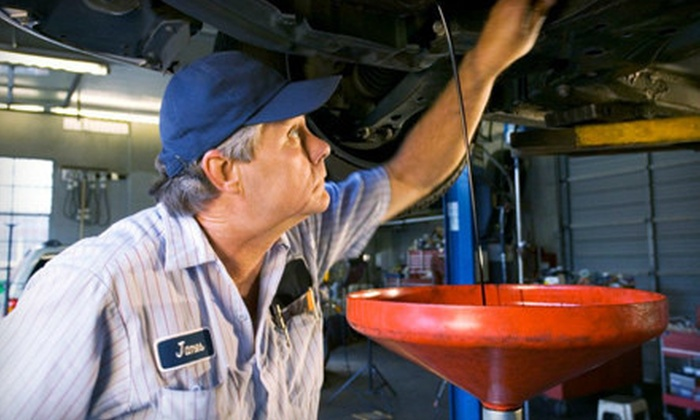 Nexar Auto Repair - Woodlake - Briar Meadow: $48 for Three Oil Changes with Brake Inspection Service at Nexar Auto Repair ($177 Value)