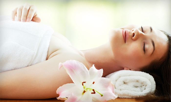 G Spa - Castlemore: Vitamin C or Acne Balance Facial with an Optional Cellulite Body Wrap at G Spa (Up to 81% Off)