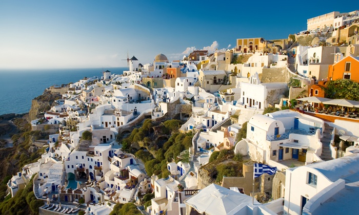 Greece Vacation with Airfare & Hotels from Gate 1 - Santorini: ✈ 10-Day Greece Vacation with Airfare from Gate 1 Travel. Price/Person Based on Double Occupancy.
