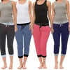 Coco Limon Multi-Color Capri Joggers and Tank Sets (8-Piece)