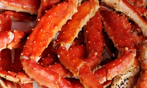 Boiling Crab and Seafood: Poboy Lunch or Seafood-Platter Meal for Two or Four at Boiling Crab and Seafood (Up to 53% Off)