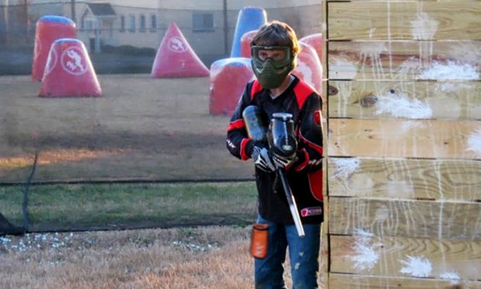 Insane Paintball - Amnicola - East Chattanooga: Paintball Play and Equipment for Two or Four at Insane Paintball (Up to 53% Off)