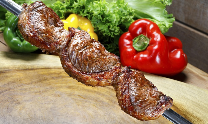 Tropical Café - Downtown Framingham: $25 for Brazilian Rodizio Dinner for Two at Tropical Café (Up to $49.98 Value)