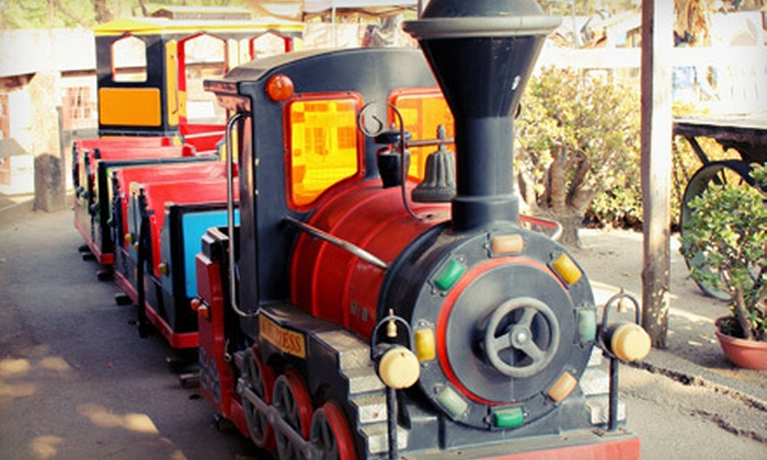 Zoomars - Orange County: Petting-Zoo Visit with Train Ride at Zoomars in San Juan Capistrano (Up to $34 Value)