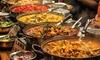 Exotisches indisches 4-Gänge-Menü