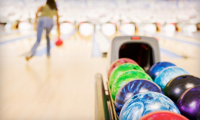 St. Charles Lanes - Saint Charles: Two Games of Bowling with Shoes, Fries, and Soda for Four or Eight at St. Charles Lanes (57% Off)