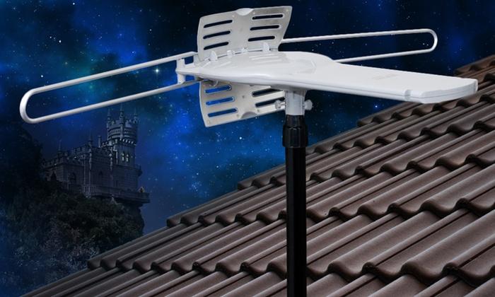 Motorized Outdoor HDTV Antenna: Motorized Outdoor HDTV Antenna (ANT-107U). Free Returns.