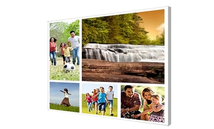 Custom Collage Canvas from Canvas Palette from $49–$99