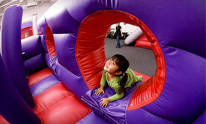 The Bounce Castle - Woodville: 5 or 10 Visits for One Child or One-Month Membership for Two Children to The Bounce Castle (Up to 57% Off)