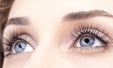 Full Set of Eyelash Extensions with Optional Two-Week Fill at Meg-a-Lashes (Up to 59% Off)