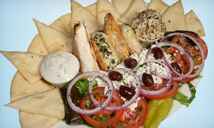 $12 for $20 Worth of Greek and Italian Cuisine at Bucci's Greek & Italian Specialties
