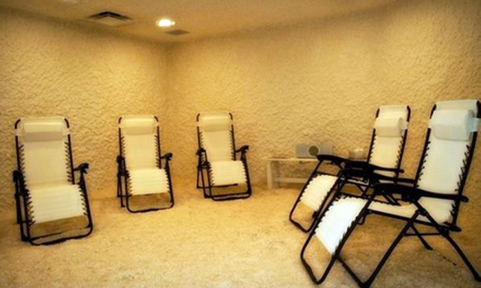 The Salt Room - Mills Ave.: 45-Minute Salt Therapy Session or One Month of Unlimited Sessions at The Salt Room (Up to 70% Off)