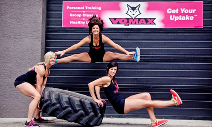 VO2 Max - West Kelowna: One Month of Unlimited Group Fitness Classes or 20 Group Fitness Classes at VO2 Max (Up to 73% Off)