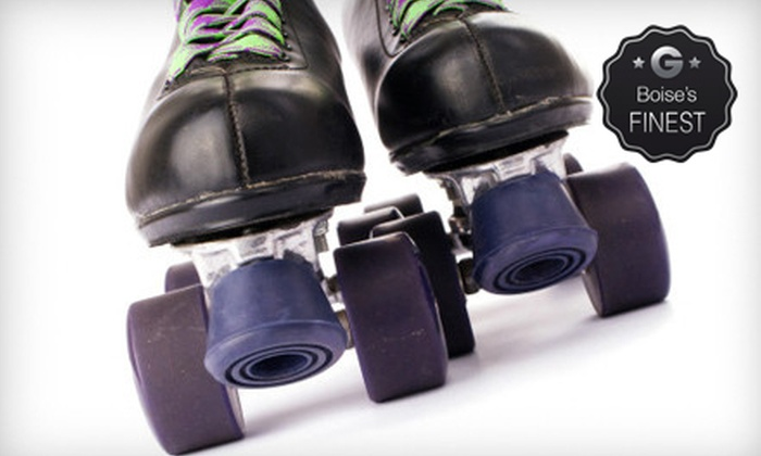 The Nampa Rollerdrome - Nampa: 5 or 10 Roller-Skating Sessions at The Nampa Rollerdrome (Up to 64% Off)