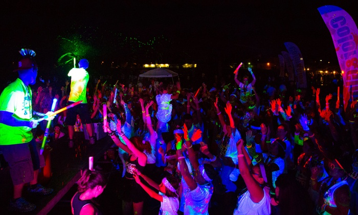 Color and Glow Run - New Kent: $25 for 5K Entry, Shirt, and Glow Gear at Color and Glow Run on Saturday, April 26 (Up to $55 Value)