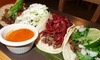 Tacos Tequilas - North Side: Meal for Two or Four with Tacos, Chips and Guac or Queso Fundido, & Margaritas at Tacos Tequilas (Up to 46% Off)
