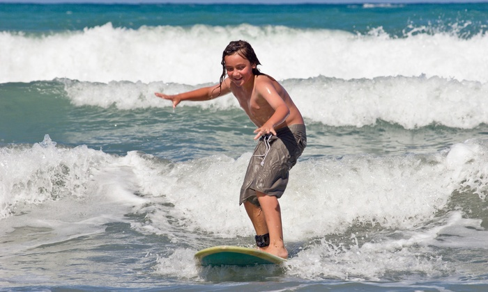 Lucid Surf - Orange County: $100 for $199 Worth of Wavesurfing Lessons — Lucid Surf Foundation