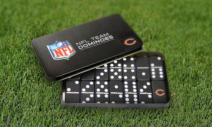 NFL Domino Sets: NFL Domino Sets. Multiple Teams Available. Free Returns.